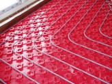 Underfloor heating for energy efficient heating in Somerset